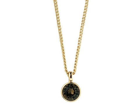 Dyrberg/Kern - Ketting Ette Gold Brown - Luxedy