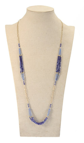 Like Jewellery - Ketting Zamira Blue
