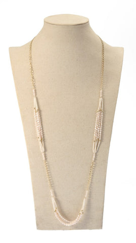 Like Jewellery - Ketting Zamira Nude