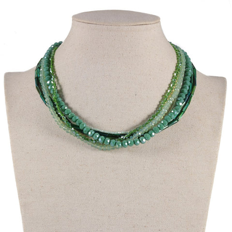 Like Jewellery - Ketting Zavaro Green