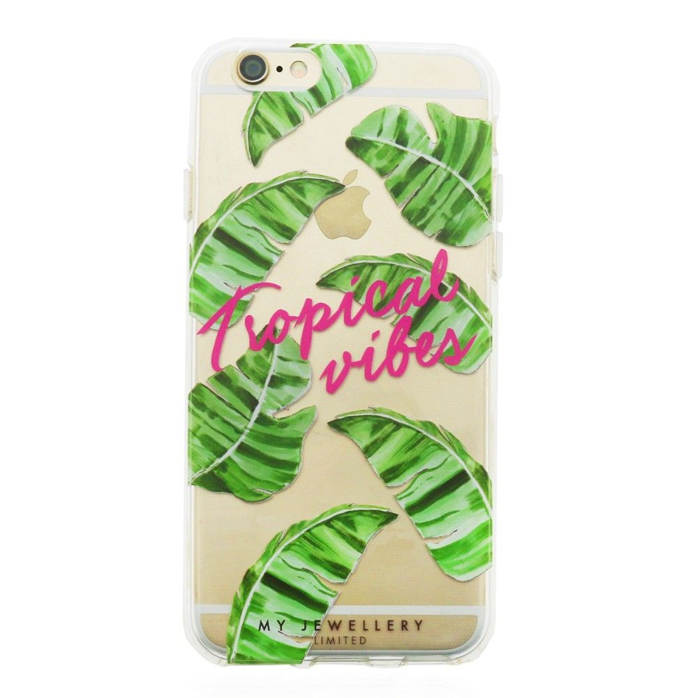My Jewellery - iPhone cover - Tropical Vibes - Luxedy