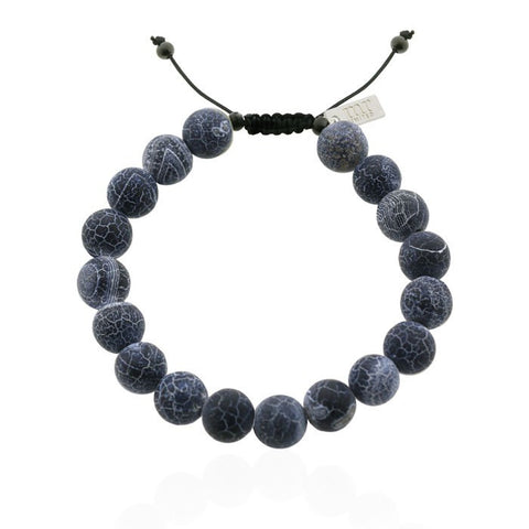 Mr. Jewellery - Big Beads Dark Grey