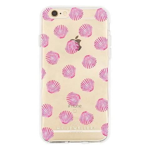 My Jewellery - iPhone cover - Pink Shell - Luxedy