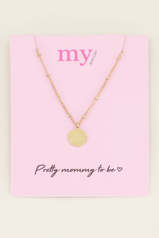 My Jewellery - Ketting Love Is Coming (goud/zilver)