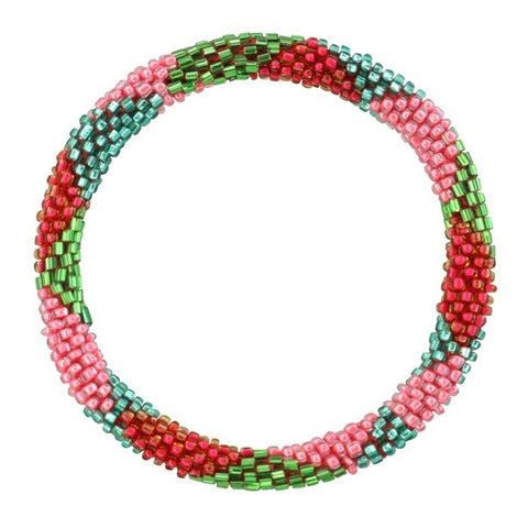 My Jewellery - Armband Little Beads Green/Pink