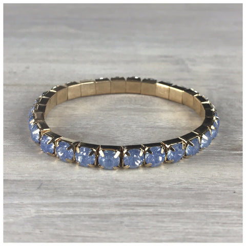 Miracles by Annelien Coorevits - Armband Big Swarovski Blue - Luxedy - 1