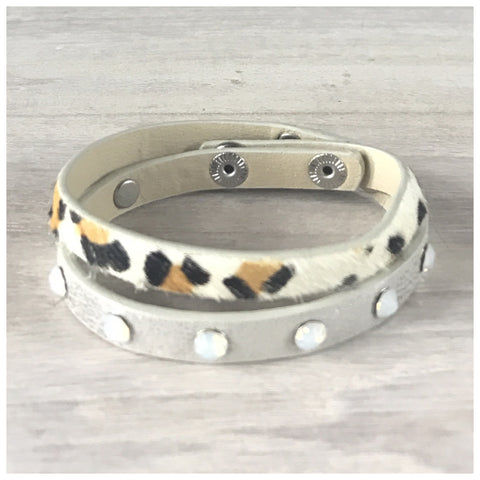 "Miracles by Annelien Coorevits ""Temptation collection"" - Armband Beth Leopard - Luxedy - 1"