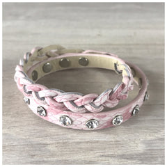 "Miracles by Annelien Coorevits ""Temptation collection"" - Armband Lizzy Pink - Luxedy - 1"