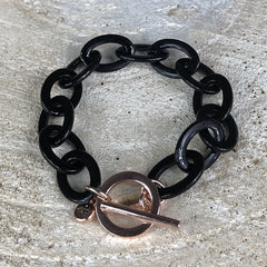Miracles by Annelien Coorevits - Armband Charlotte Black - Luxedy
