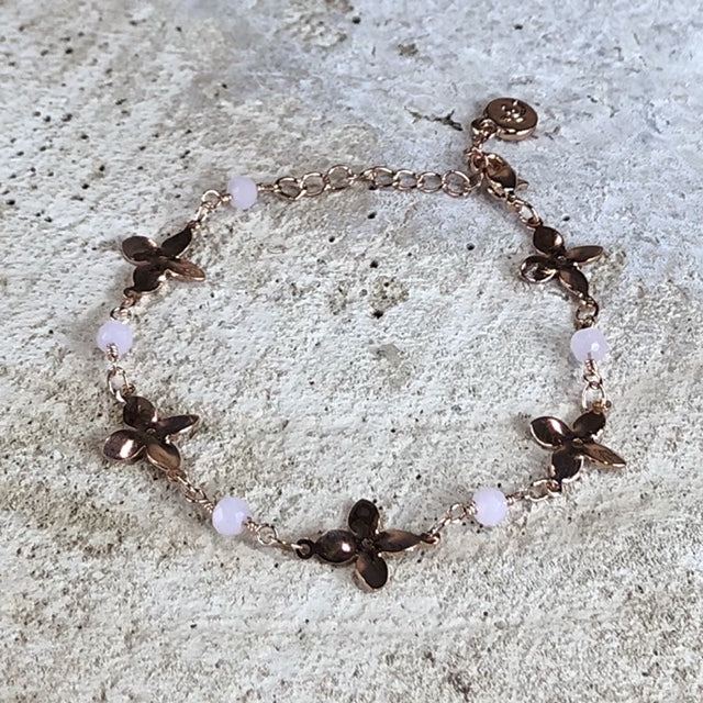 Miracles by Annelien Coorevits - Armband Fleur Rosegold