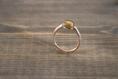 Miracles by Annelien Coorevits - Ring Firenze Rosegold Brown - Luxedy - 1