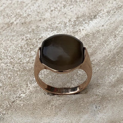 Miracles by Annelien Coorevits - Ring Grey/Brown - Luxedy