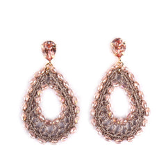 Like Jewellery - Oorbellen Eternal Pastel Pink - Luxedy
