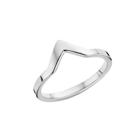 Melano - Ring Friends Pointed Zilver - Luxedy