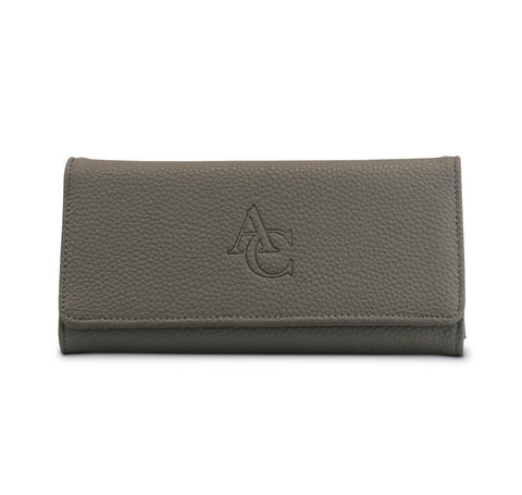 Miracles By Annelien Coorevits Portemonnee - Big Wallet Grey - Luxedy