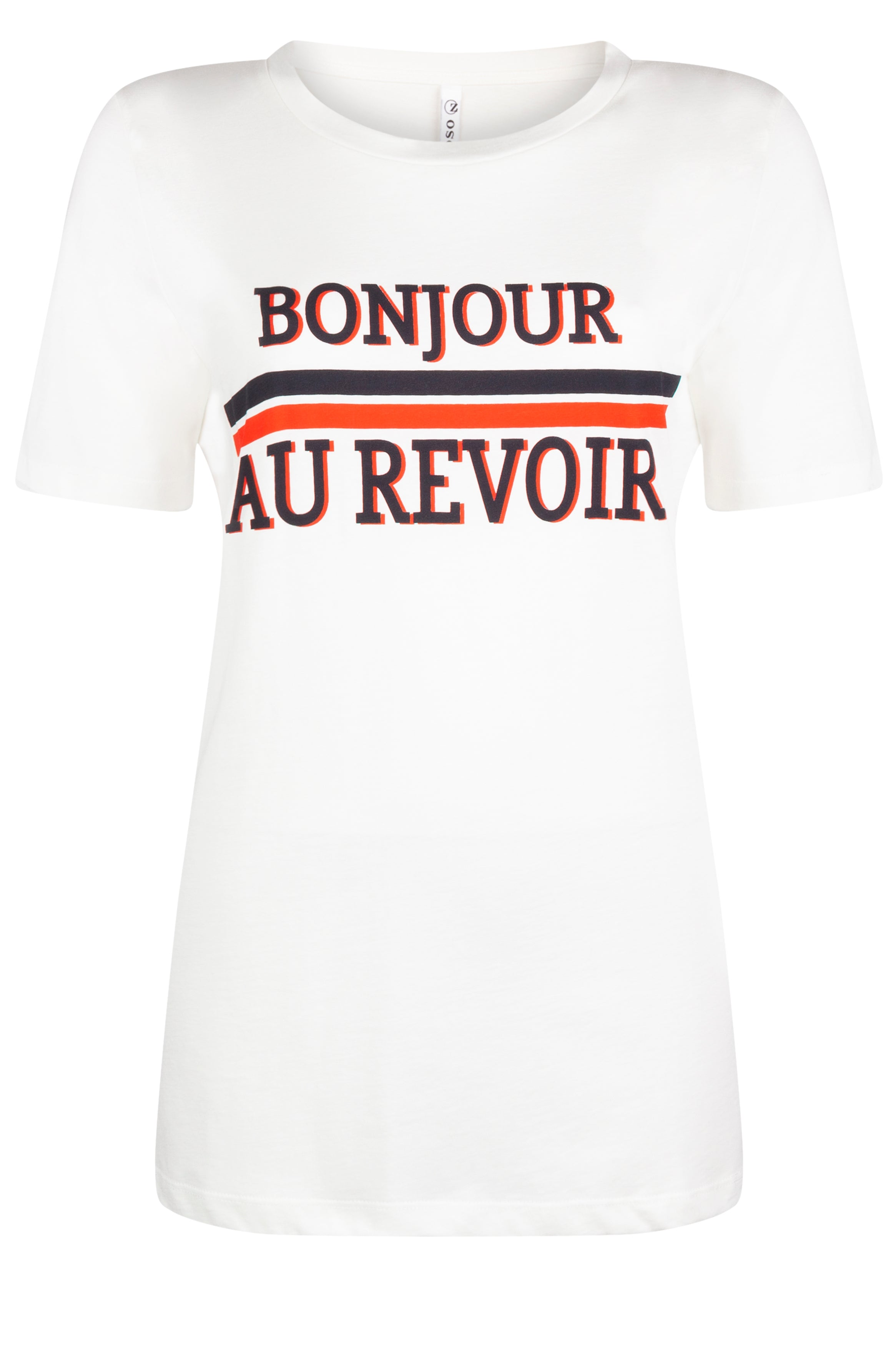 Zoso - Shirt Bonjour Orange Red