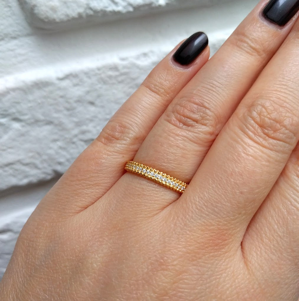 LineArgent - Ring Elegant Gold - Luxedy - 2