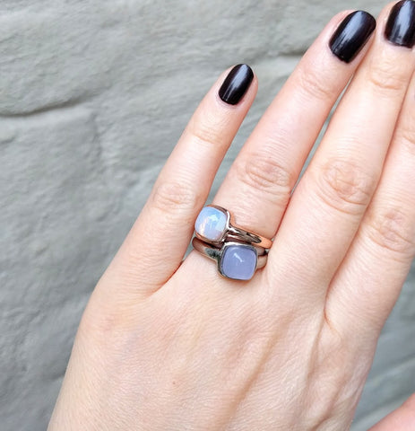 Miracles by Annelien Coorevits - Ring Firenze Silver Opal - Luxedy - 2