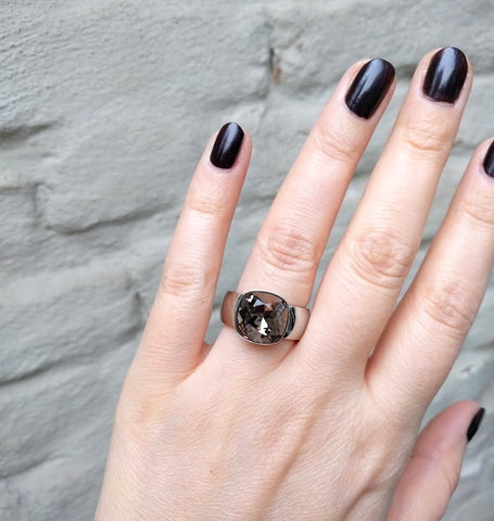 Miracles by Annelien Coorevits - Ring Bardolino Silver Grey - Luxedy - 2