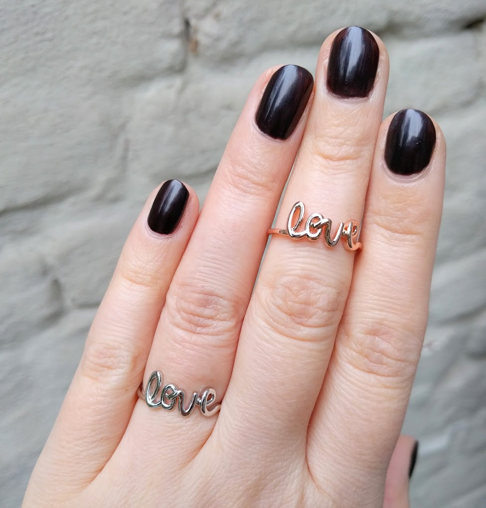 "Miracles by Annelien Coorevits ""Temptation collection"" - Ring Love Silver - Luxedy - 2"