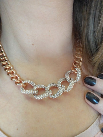 Miracles by Annelien Coorevits - Ketting Claire Rosegold - Luxedy - 2