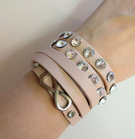 "Miracles by Annelien Coorevits ""Temptation collection"" - Armband Jill Pink - Luxedy - 2"