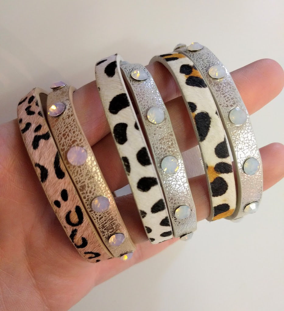 "Miracles by Annelien Coorevits ""Temptation collection"" - Armband Beth Leopard - Luxedy - 2"