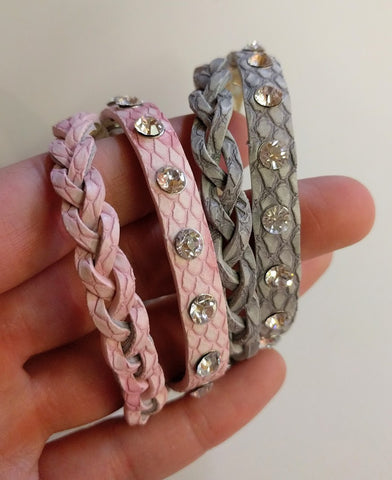 "Miracles by Annelien Coorevits ""Temptation collection"" - Armband Lizzy Grey - Luxedy - 2"