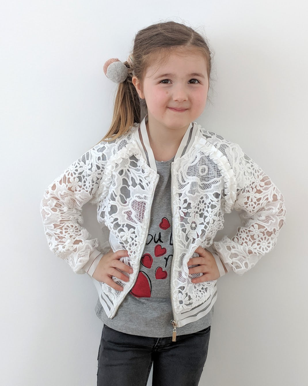 Loved by Miracles KIDS - Bomber Jas Blossom