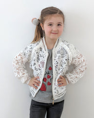 Loved by Miracles KIDS - Bomber Jas Blossom - Luxedy