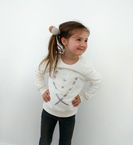 Loved by Miracles KIDS - Sweater Saxon - Luxedy