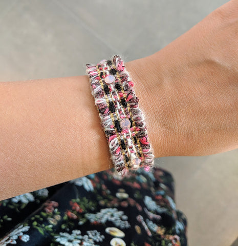 Miracles by Annelien Coorevits - Armband Meghan Pink - Luxedy