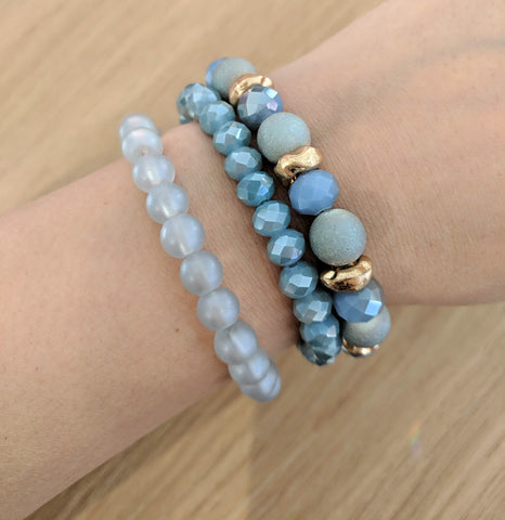 Like Jewellery - Armband Zano Blue