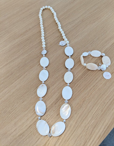 Like Jewellery - Ketting Zeinab White