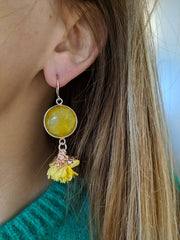 Miracles by Annelien Coorevits - Oorbellen Manon Yellow
