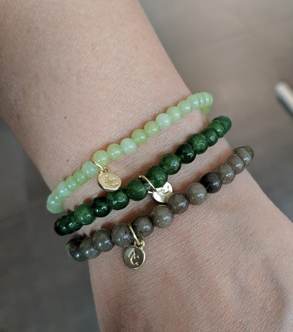 Miracles by Annelien Coorevits - Armband Astrid Green