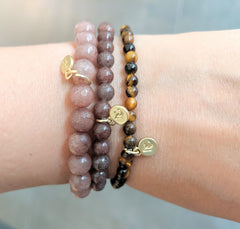 Miracles by Annelien Coorevits - Armband Evelyn Pink