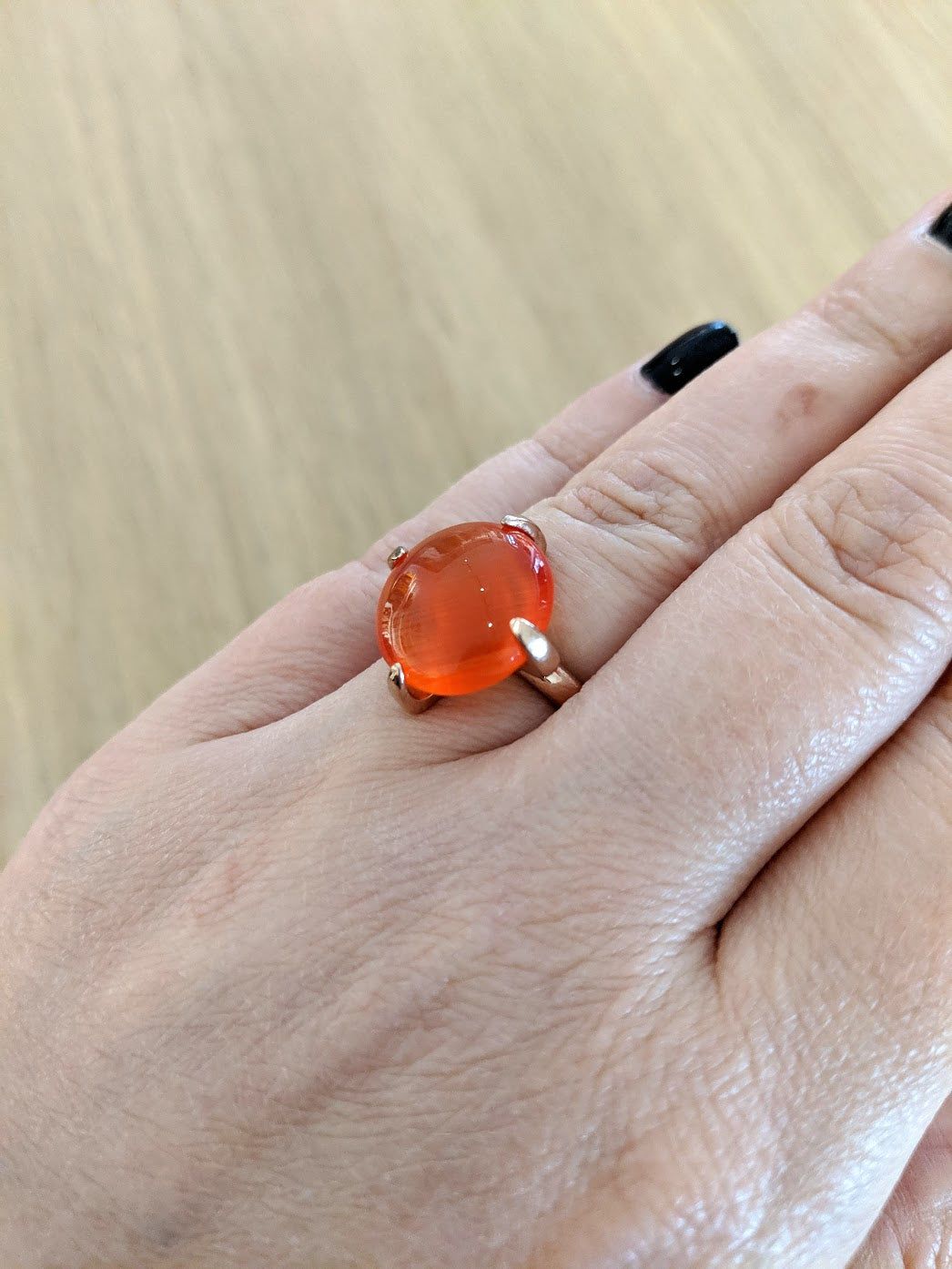 Miracles by Annelien Coorevits - Ring Orange