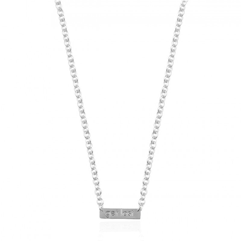 My Jewellery - Ketting Quote - Get Lost - Luxedy - 1