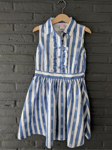 Loved by Miracles KIDS - Jurk Kay Stripes