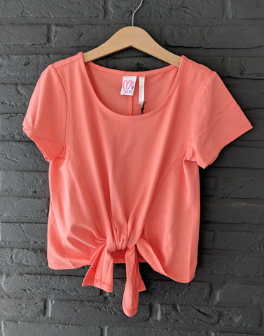 Loved by Miracles KIDS - Shirt Teddy Coral
