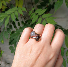 Miracles by Annelien Coorevits - Ring Firenze Rosegold Brown - Luxedy - 2