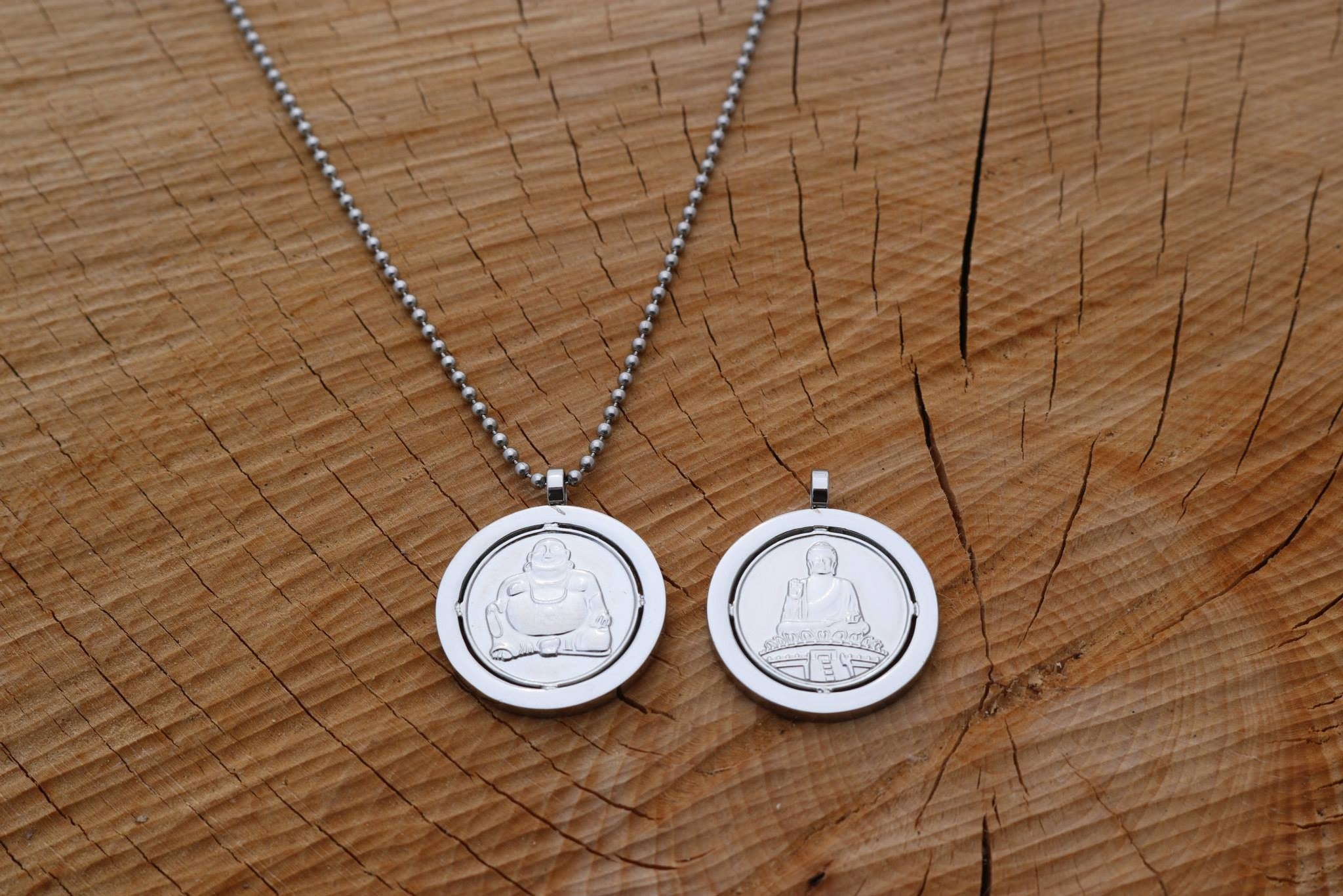 Miracles by Annelien Coorevits - Ketting Buddha Silver - Luxedy
