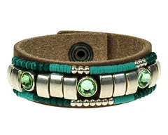 Sari Armband Breed - Ocean Breeze - Luxedy