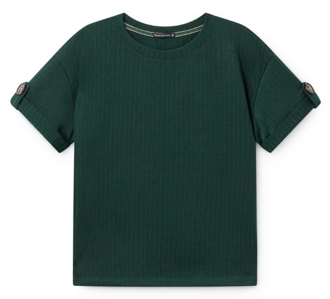 Skatïe - Shirt Button Emerald