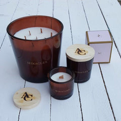 Miracles by Annelien Coorevits - Geurkaars Brown Vetiver (3 formaten) - Luxedy