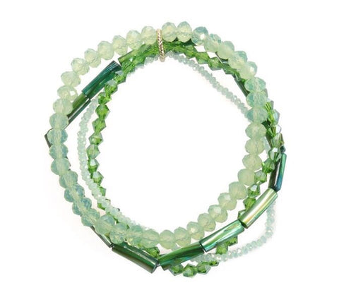Like Jewellery - Armband Zavannah Green
