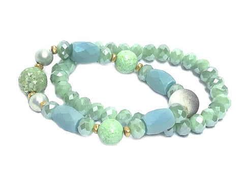 Like Jewellery - Armband Zanaida Mint