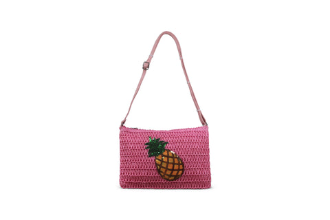 Miracles by Annelien Coorevits - Handtas Pineapple Pink