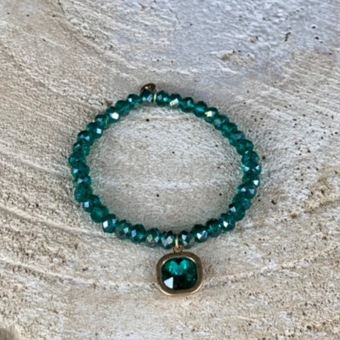 Miracles by Annelien Coorevits - Armband Annelien Green Pearl